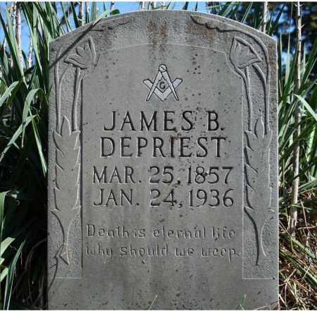 DEPRIEST, JAMES B. - Searcy County, Arkansas   JAMES B. DEPRIEST - Arkansas Gravestone Photos