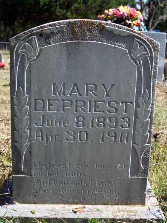 DEPRIEST, MARY - Searcy County, Arkansas | MARY DEPRIEST - Arkansas Gravestone Photos