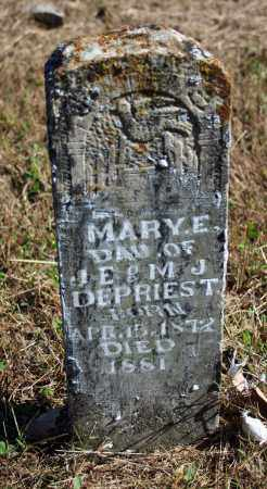 DEPRIEST, MARY E. - Searcy County, Arkansas | MARY E. DEPRIEST - Arkansas Gravestone Photos