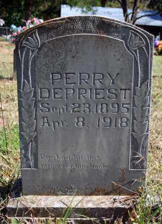 DEPRIEST, PERRY - Searcy County, Arkansas | PERRY DEPRIEST - Arkansas Gravestone Photos