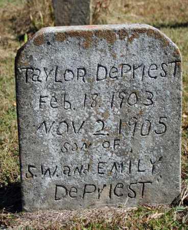 DEPRIEST, TAYLOR - Searcy County, Arkansas | TAYLOR DEPRIEST - Arkansas Gravestone Photos