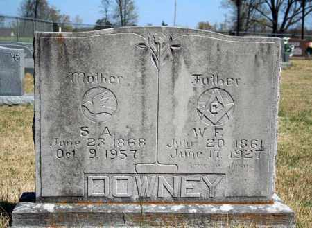 DOWNEY, W.F. - Searcy County, Arkansas | W.F. DOWNEY - Arkansas Gravestone Photos