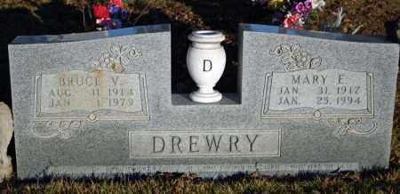 DREWRY, BRUCE VERNON - Searcy County, Arkansas | BRUCE VERNON DREWRY - Arkansas Gravestone Photos
