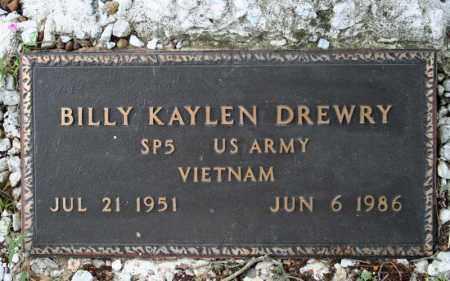 DREWRY  (VETERAN VIET), BILLY KAYLEN - Searcy County, Arkansas | BILLY KAYLEN DREWRY  (VETERAN VIET) - Arkansas Gravestone Photos