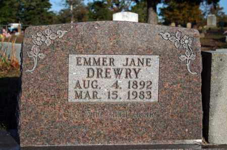 DREWRY, EMMER JANE (BARNES) - Searcy County, Arkansas | EMMER JANE (BARNES) DREWRY - Arkansas Gravestone Photos