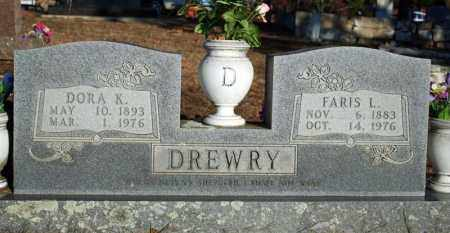 DREWRY, FARIS LAWRENCE - Searcy County, Arkansas | FARIS LAWRENCE DREWRY - Arkansas Gravestone Photos