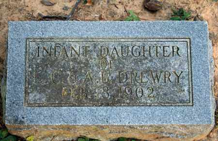 DREWRY, INFANT DAUGHTER 1 - Searcy County, Arkansas | INFANT DAUGHTER 1 DREWRY - Arkansas Gravestone Photos