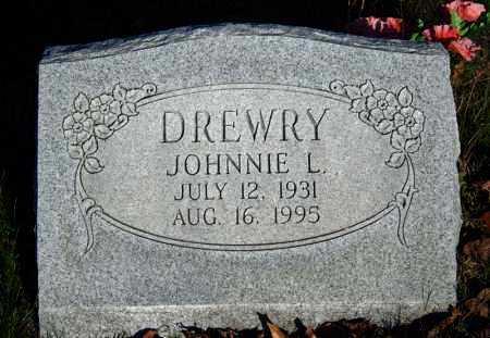 DREWRY, JOHNNIE L. - Searcy County, Arkansas | JOHNNIE L. DREWRY - Arkansas Gravestone Photos