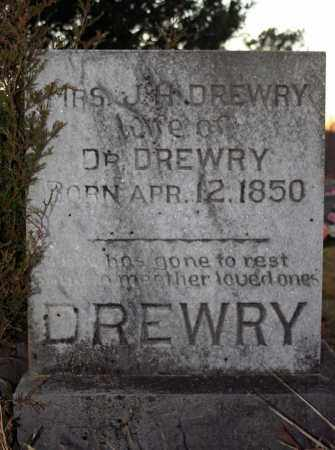 DREWRY, MRS. MARTHA ELIZABETH (DEAN) - Searcy County, Arkansas   MRS. MARTHA ELIZABETH (DEAN) DREWRY - Arkansas Gravestone Photos