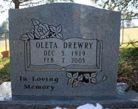 DREWRY, OLETA - Searcy County, Arkansas | OLETA DREWRY - Arkansas Gravestone Photos