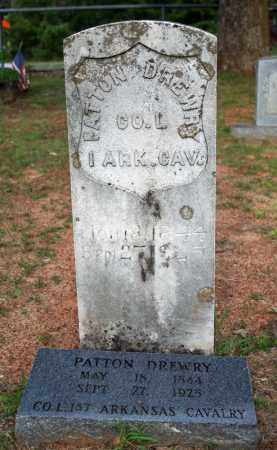 DREWRY  (VETERAN UNION), PATTON T. - Searcy County, Arkansas | PATTON T. DREWRY  (VETERAN UNION) - Arkansas Gravestone Photos