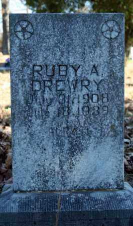 DREWRY, RUBY A. - Searcy County, Arkansas | RUBY A. DREWRY - Arkansas Gravestone Photos
