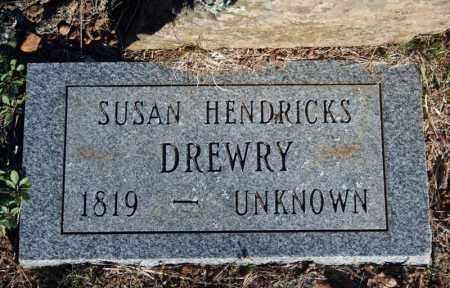 HENDRICKS DREWRY, SUSAN - Searcy County, Arkansas | SUSAN HENDRICKS DREWRY - Arkansas Gravestone Photos