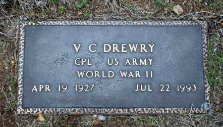 DREWRY (VETERAN WWII), V C - Searcy County, Arkansas   V C DREWRY (VETERAN WWII) - Arkansas Gravestone Photos