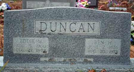 DUNCAN, BEN H. - Searcy County, Arkansas | BEN H. DUNCAN - Arkansas Gravestone Photos