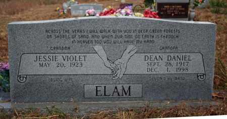 ELAM, JESSIE VIOLET - Searcy County, Arkansas | JESSIE VIOLET ELAM - Arkansas Gravestone Photos