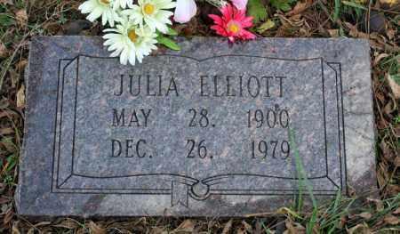 ELLIOTT, JULIA - Searcy County, Arkansas | JULIA ELLIOTT - Arkansas Gravestone Photos