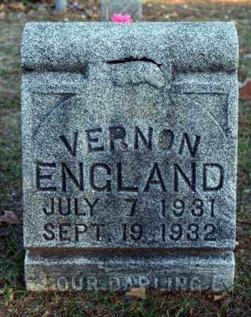 ENGLAND, VERNON - Searcy County, Arkansas | VERNON ENGLAND - Arkansas Gravestone Photos