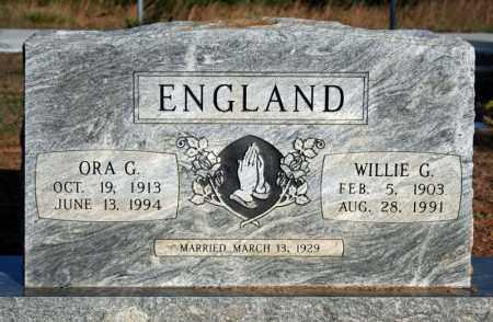 ENGLAND, WILLIE GARRISON - Searcy County, Arkansas | WILLIE GARRISON ENGLAND - Arkansas Gravestone Photos