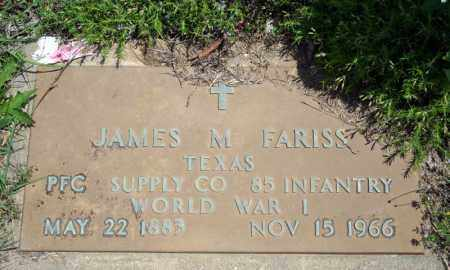 FARRIS (VETERAN WWI), JAMES M - Searcy County, Arkansas | JAMES M FARRIS (VETERAN WWI) - Arkansas Gravestone Photos