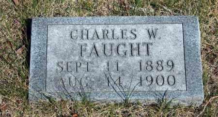 FAUGHT, CHARLES W. - Searcy County, Arkansas | CHARLES W. FAUGHT - Arkansas Gravestone Photos