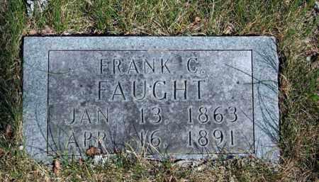FAUGHT, FRANK C. - Searcy County, Arkansas   FRANK C. FAUGHT - Arkansas Gravestone Photos