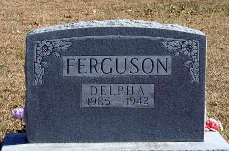FERGUSON, DELPHA - Searcy County, Arkansas   DELPHA FERGUSON - Arkansas Gravestone Photos