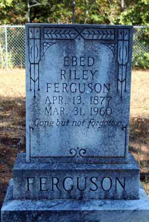 FERGUSON, EBED RILEY - Searcy County, Arkansas | EBED RILEY FERGUSON - Arkansas Gravestone Photos
