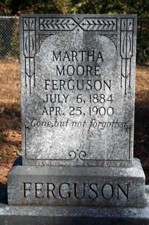 MOORE FERGUSON, MARTHA - Searcy County, Arkansas | MARTHA MOORE FERGUSON - Arkansas Gravestone Photos