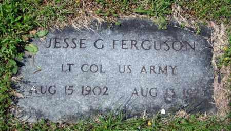 FERGUSON (VETERAN), JESSE G - Searcy County, Arkansas   JESSE G FERGUSON (VETERAN) - Arkansas Gravestone Photos