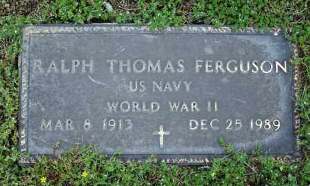 FERGUSON (VETERAN WWII), RALPH THOMAS - Searcy County, Arkansas | RALPH THOMAS FERGUSON (VETERAN WWII) - Arkansas Gravestone Photos