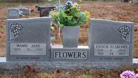 FLOWERS, ENOCH ELSBERRY - Searcy County, Arkansas   ENOCH ELSBERRY FLOWERS - Arkansas Gravestone Photos
