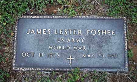 FOSHEE (VETERAN WWII), JAMES LESTER - Searcy County, Arkansas | JAMES LESTER FOSHEE (VETERAN WWII) - Arkansas Gravestone Photos