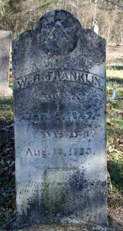 FRANKLIN, W.R. - Searcy County, Arkansas   W.R. FRANKLIN - Arkansas Gravestone Photos