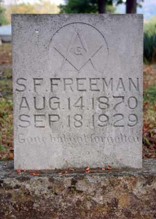 FREEMAN, S.F. (SAMUEL) - Searcy County, Arkansas   S.F. (SAMUEL) FREEMAN - Arkansas Gravestone Photos