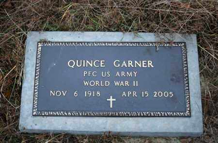 GARNER (VETERAN WWII), QUINCE - Searcy County, Arkansas | QUINCE GARNER (VETERAN WWII) - Arkansas Gravestone Photos