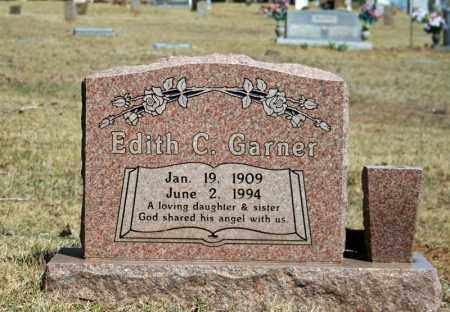 GARNER, EDITH C. - Searcy County, Arkansas   EDITH C. GARNER - Arkansas Gravestone Photos