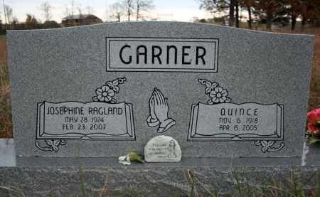 "GARNER, JOSEPHINE ""BONNIE"" - Searcy County, Arkansas | JOSEPHINE ""BONNIE"" GARNER - Arkansas Gravestone Photos"