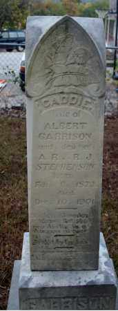 STEPHENSON GARRISON, CADDIE - Searcy County, Arkansas | CADDIE STEPHENSON GARRISON - Arkansas Gravestone Photos