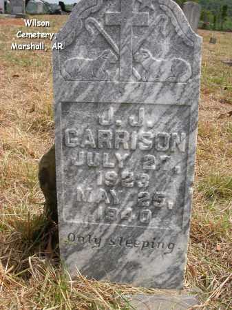 GARRISON, J.J. - Searcy County, Arkansas   J.J. GARRISON - Arkansas Gravestone Photos