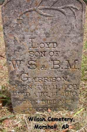 GARRISON, LOYD - Searcy County, Arkansas | LOYD GARRISON - Arkansas Gravestone Photos