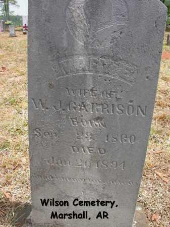 GARRISON, MARY E. - Searcy County, Arkansas | MARY E. GARRISON - Arkansas Gravestone Photos