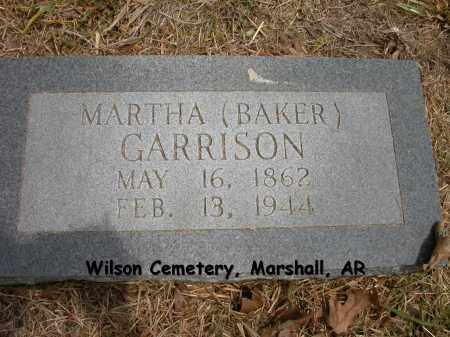 GARRISON, MARTHA - Searcy County, Arkansas | MARTHA GARRISON - Arkansas Gravestone Photos