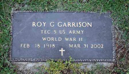 GARRISON (VETERAN WWII), ROY G - Searcy County, Arkansas | ROY G GARRISON (VETERAN WWII) - Arkansas Gravestone Photos