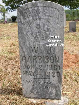 GARRISON, WILLIAM JACKSON - Searcy County, Arkansas | WILLIAM JACKSON GARRISON - Arkansas Gravestone Photos