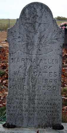 GATES, MARTHA - Searcy County, Arkansas | MARTHA GATES - Arkansas Gravestone Photos