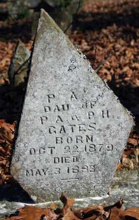 GATES, P.A. - Searcy County, Arkansas   P.A. GATES - Arkansas Gravestone Photos