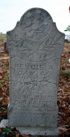 GATES, PENCIE A. - Searcy County, Arkansas | PENCIE A. GATES - Arkansas Gravestone Photos