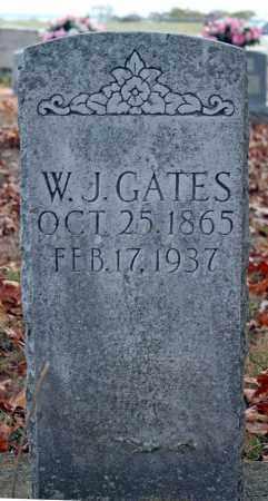 GATES, W. J. - Searcy County, Arkansas | W. J. GATES - Arkansas Gravestone Photos