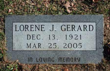 GERARD, LORENE J. - Searcy County, Arkansas | LORENE J. GERARD - Arkansas Gravestone Photos